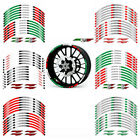 For Aprilia RS125 RS250 RS4 125 RS50 Custom Rim Stripes Wheel Decal Tape Sticker