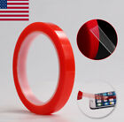 25M RED Adhesive Double Side Strong Sticky High Temp Tape Cell Phone LCD Repair