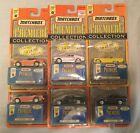MATCHBOX PREMIERE SERIES 17 SET OF 6 VEHICLES  2 DODGE CHALLENGERS  ALL MOC