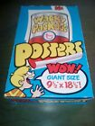 Topps Wacky Packages Box of Posters (36 count) unopened packs