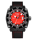 NEW Formex DS2100 Swiss Automatic Leather Strap Dive Watch DS2100.9.7074.216