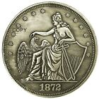 Naked Liberty V1 Novelty Heads Tail Good Luck Token Challenge Coin FAST SHIPPING