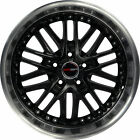 4 GWG Wheels 18 inch Black Machined AMAYA Rims fits SUBARU B9 TRIBECA 2006 2007