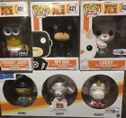 funko pop Despicable Me 3 Lot exclusive Dorbz Metallic Jerry Gru Lucky Fluffy