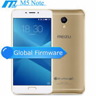 "Full Metal Oro 5.5"" FHD 4G 3+16GB 13MP 4000mAh MEIZU m5 note Handy OHNE VERTRG"