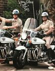 "Eric Estrada ""Ponch""  Larry Wilcox ""Jon"" Chips Autographed 11x14 Photo JSA 2"