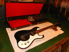 Vintage 1960's Silvertone Model 1448 Electric Guitar w/ Original Amp in Case