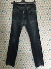 7 For All Mankind SLIMMY mens jeans Size 33 stretch W33 L32 distressed vintage