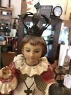 """""""Child of Prague"""" SCULPTURE ICON, Catholic, hand carved WOOD"""