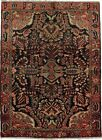 Nice Hand Knotted Antique Rare Lilian Persian Rug Oriental Area Carpet Sale 5X7