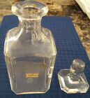 BACCARAT CRYSTAL DECANTER SIGNED AND SEALED