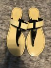 Kate Spade Ana Patent Leather Thong Sandal Sz 8