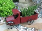 BiG RED Pickup TRUCK*Primitive/French Country Farmhouse/Christmas Display Decor