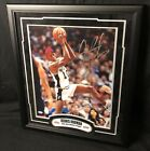 DENNIS RODMAN SIGNED 16x20 PHOTO CUSTOM FRAMED SPURS AUTO PSA SAN ANTONIO