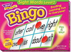 Bingo Game - Sight Words - Level 2