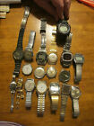 Watch Lot for Repair Timex Atlantis, Citizen Alarm, Casio G. Shock, Etc.