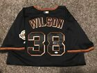 BRIAN WILSON SAN FRANCISCO GIANTS SIGNED Jersey WORLD SERIES PATCH JSA COA