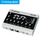 USB Audio Recording Interface External USB Sound Card DSP Effect 48V w RCA Cable