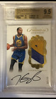 KEVIN DURANT 2016-17 PANINI FLAWLESS GOLD GAME WORN 3 COLOR PATCH 2 10 BGS 9.5