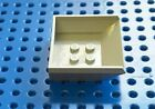 Lego Light Grey Vehicle Tipper Bed Small Part No. 2512 Pack of 1