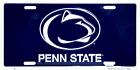 Penn State Nittany Lions Blue License Plate Sign Man Cave Wall Tag FAST USA