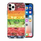 Mixed Fruit Veg TPU Back Case Cover For Mobile Phone - S304