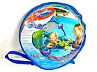SwimWays Baby Spring Float Activity Center with Canopy Octopus infant pool