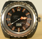 Enicar Sherpa Star Diver Watch, working, used, missing bezel, not original strap