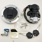 Suzuki GSXR600 750 GSX1250F SV1000 SV650 Fuel Tank Cap Lock Ignition Switch Set