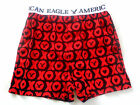 MENS AMERICAN EAGLE OUTFITTERS BOXER SHORTS 100% COTTON SIZE M (32-34)