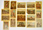 Cards with biblical subjects, release before 1917 18 pieces
