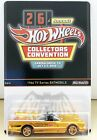 Hot Wheels 2012 26th Annual Collectors Convention 1966 TV Series Batmobile GOLD