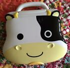 Cow Learning Lap Top for Baby and Toddlers Used in Working Condition Cute Fun
