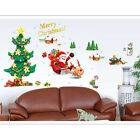 Chrismas Tree DIY Wall Stickers Windows Room Art Removable Paper Decoration