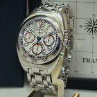 FRANCK MULLER TRANSAMERICA MENs AUTOMATIC CHRONOGRAPH WATCH 2000 CC AT BOX/PP