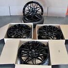 M3 M4 Style 20x85 95 Gloss Black Wheels Fit BMW F30 328i 335i 340i Set of 4