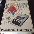 Panasonic RQ-413S Portable Cassette Tape Recorder Complete in Box Works -0116SH
