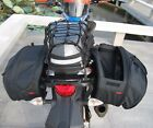 1Set 36-58L Big Capacity Motorcycle Pannier Luggage Saddle Bag universal Black