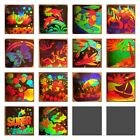 VINTAGE 80s 90s HOLOGRAPHIC 3D LASER MIRROR STICKER LOT Set 16 Or Individually