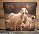 GOAT Kids 4 Sale CANVAS Wall PICTURE*Farmhouse Primitive/French Country Decor