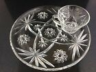 Vintage Star of David pattern luncheon plate and cup