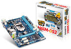 Gigabyte GA H61M DS2 Intel DDR3 LGA 1155 Motherboard +Box IO Shield Sata Cables