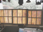 VINTAGE Antique STAINED GLASS WINDOWS FROM CHURCH RARE 32