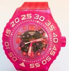 SWATCH SCUBA LIBRE SUUP100 DEEP BERRY WOMEN. ALMOST NOT USED, SUPER DEAL!!