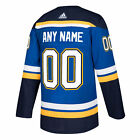 St. Louis Blues ANY NAME adidas NHL Authentic Pro Home Jersey - Pro Stitched