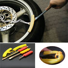 5Pcs Motorcycle Tire Lever Spoon Wheel Change Replace Rim Protector Pad Tool Kit