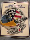STS 51L CHALLENGER SPACE SHUTTLE MISSION CREW PATCH  H