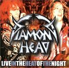 DIAMOND HEAD - Live-in Heat Of Night - 2 CD - Import Live - **Mint Condition**