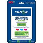 Tracfone Keep Your Own Phone 3 in 1 Prepaid SIM Kit w 4G LTE Universal SIM Card