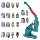 Hand Pressure Pressing Clamp Machine Sewing Tool Claw Clasp Snap Fastener Dies